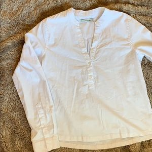 Abercrombie and Fitch Cotton Button Down Tunic